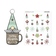 Cup 'a Gnome Stickers  - gnome planner sticker - The Planner's World