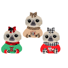 Christmas Sweater Moxie Die Cuts - winter - christmas stickers - christmas - sloth stickers - sloth - ugly sweater stickers - The Planner's World