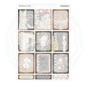Roaring 20's weekly vertical Sticker Kit - gatsby kit - The Planner's World