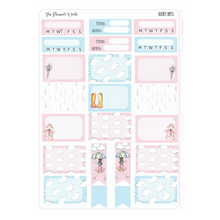 Rainy Days weekly vertical Sticker Kit - The Planner's World
