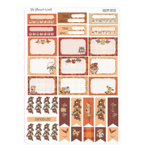 Creepy Cuties Weekly Vertical Sticker Kit - The Planner's World