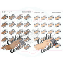 Pay credit card planner stickers - The Planner's World