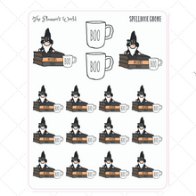 Spellbook Gnome Planner Stickers - The Planner's World