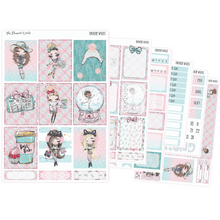 Sparkly Weeks weekly vertical Sticker Kit - winter kit - The Planner's World