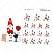Merry & Bright Gnome Planner Stickers - The Planner's World