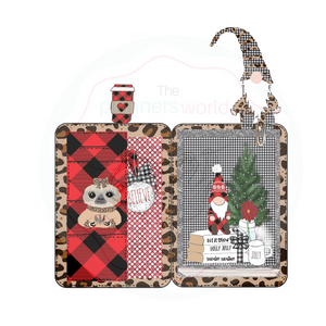 Holly Jolly Mini Planner Die Cuts - The Planner's World