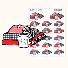 Books, Coffee & Dreams Planner Stickers