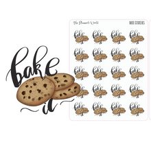Bake Script Planner Stickers - The Planner's World