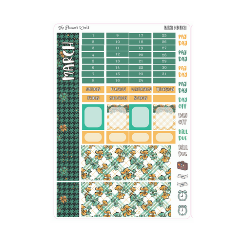 March Monthly Hobonichi Kit - The Planner's World