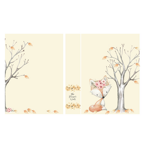 Woodland Fox 5 x 7 Sticker Album - The Planner's World