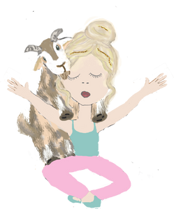 Goat Yoga Planner Stickers - The Planner's World