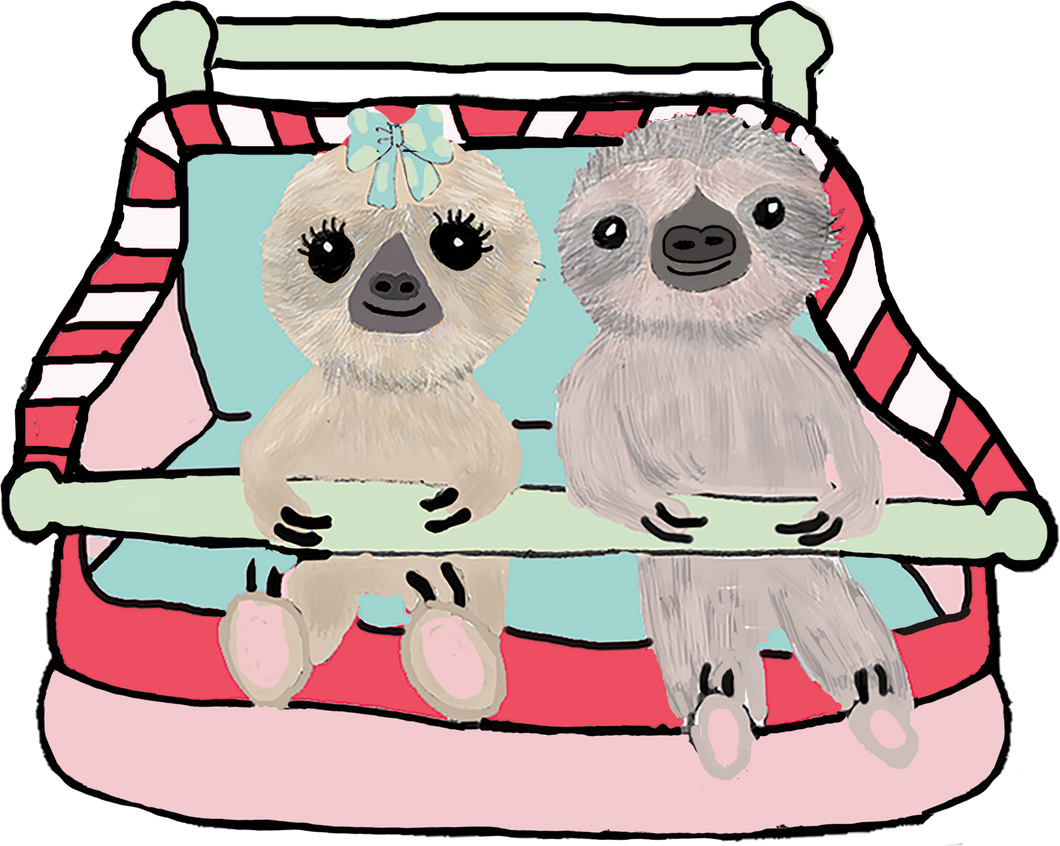 Carnival Ride Sloth Die Cut - The Planner's World