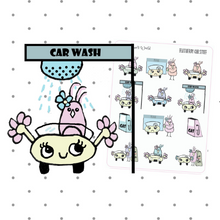 Featherbies car stuff planner stickers - The Planner's World