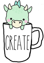 Dragon Mug Die cuts - The Planner's World