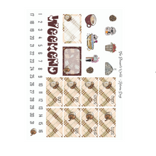 Autumn Days Deluxe Weekly Planner Stickers - The Planner's World
