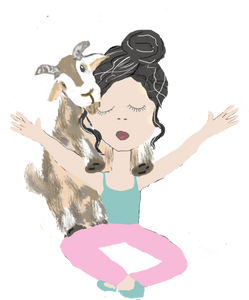 Goat Yoga Planner Stickers