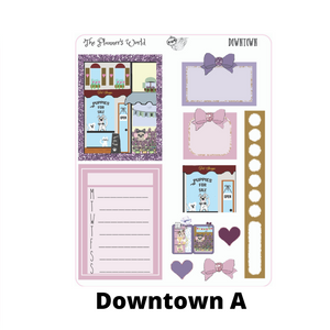 Micro Planner Sticker Kit - Downtown - The Planner's World