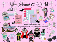 Moxie package stickers - The Planner's World