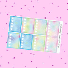 Mermaid Scale checklist planner stickers - The Planner's World