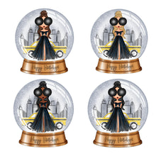 Fashion Girl Snow Globe Die Cuts - The Planner's World