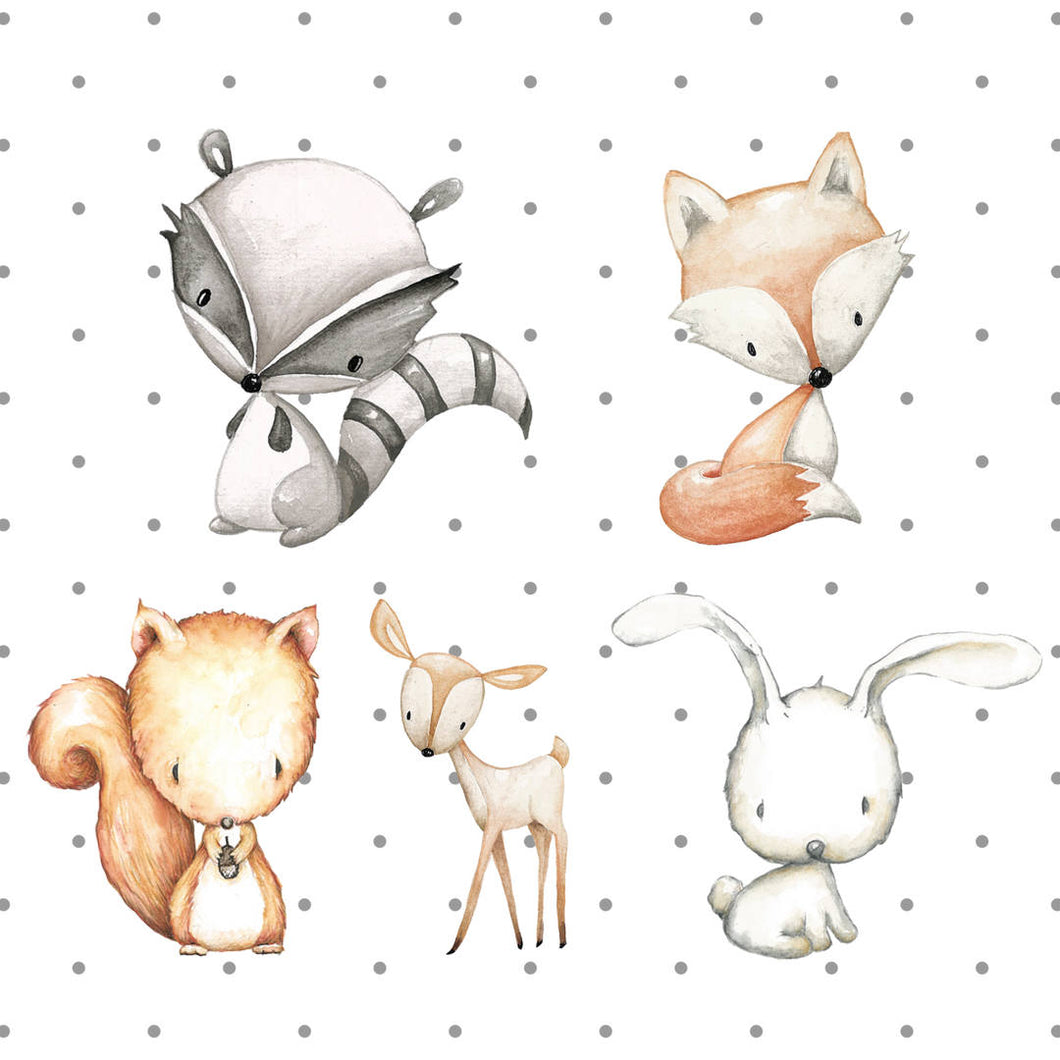 Woodland Animal Die Cuts - The Planner's World