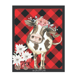Buffalo Plaid Cow Dashboard - The Planner's World