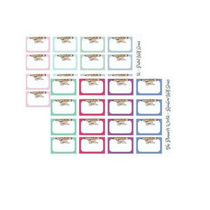 Mocha pencil half box Stickers - The Planner's World