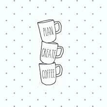 Mug Stack Die Cuts - coffee mugs - The Planner's World