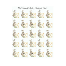Cute goat planner stickers - Nibbles the goat - The Planner's World