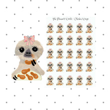 Moxie eats chicken wings planner stickers - The Planner's World