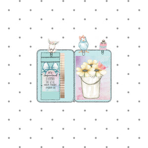 Barnyards and Butterflies Mini Planner Die Cut - The Planner's World