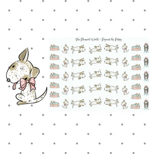 Pageant the Puppy Stickers - The Planner's World
