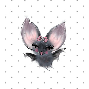 foxy the baby bat die cut - spooky - halloween die cut - bat - creepy cute - planner diecut - planner sticker - bat