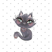 Black Cat Die Cut - Halloween Bullet Journal - The Planner's World