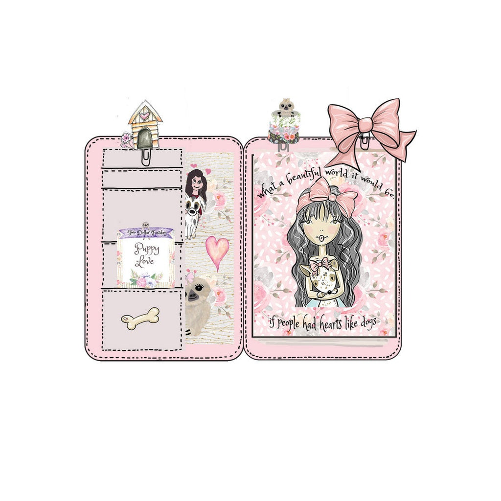 This Home is filled with Love mini planner die cut - The Planner's World