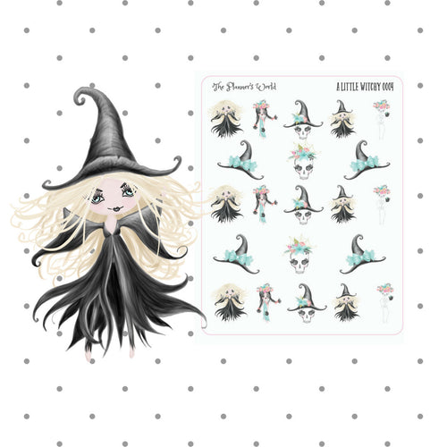 A Little Witchy Witch Planner Stickers - The Planner's World