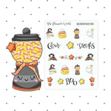 Candy Machine Planner Stickers and Diecut - The Planner's World