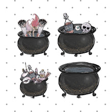 Caldron die cuts - halloween - diecut - planner sticker - goth stickers - witches cauldron - The Planner's World