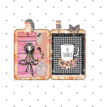 Plaidtober Mini Planner Die Cuts - The Planner's World
