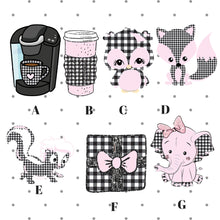 Farmhouse Pink Ice Buffalo Plaid Die Cuts - The Planner's World