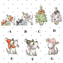 Pageant the Puppy Holiday Die Cuts - The Planner's World
