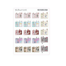Hand drawn mini Planner Stickers - The Planner's World