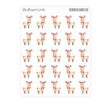 Reindeer games planner sticker - The Planner's World