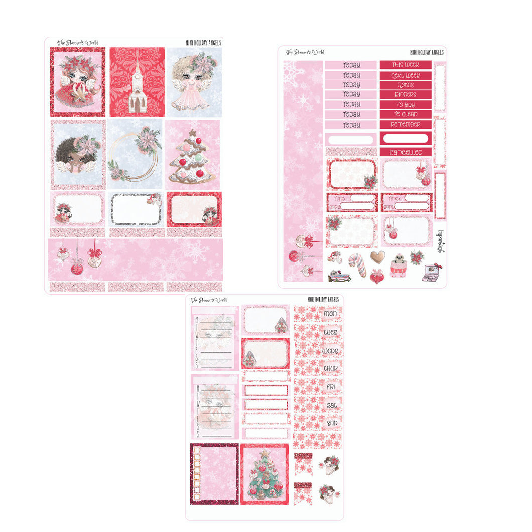 Angels mini planner weekly kit - The Planner's World