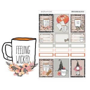 Halloween Dunn Planning planner stickers Mini Kit - The Planner's World