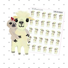 Llama Love Moxie Stickers - The Planner's World