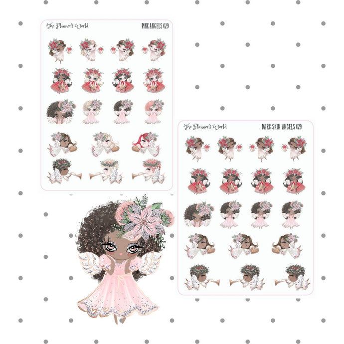Angels Stickers - The Planner's World