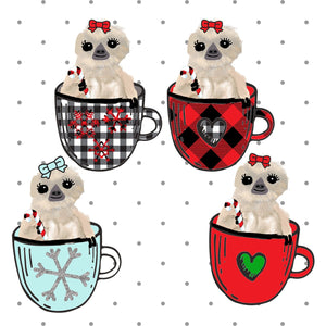 A Cup of Moxie Die Cut Stickers - The Planner's World