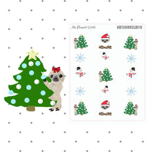 Winter Wonderland Deco - stickers -  christmas tree - christmas - planner stickers - christmas stickers - snowman - santa - The Planner's World