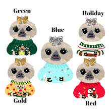 Ugly Sweater Moxie Die Cuts - sloth diecut - christmas die cut - ugly sweaters - winter - The Planner's World